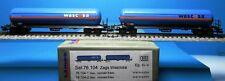 LS Models 76 104 Set 2 Stk. DB Zags Gasbehälter Wascosa, Neu,OVP,Ep.IV,M1:160