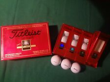 Box Of 12 Titleist Dt Spin Golf Balls With Garlock Sealing Technologies Logo