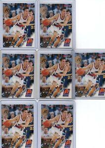 1997 NBA Hoops Steve Nash Rookie Card Base X7 #304 Pheonix Suns