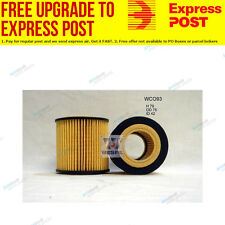 Wesfil Oil Filter WCO93 fits BMW Z4 2.5 si (E85),3.0 si (E85),sDrive 23 i (E8