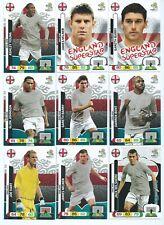 ENGLAND x 11 PANINI Adrenalyn XL UEFA Euro 2012 Cards