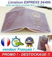 Passeport Francais étui pochette protège document de protection Nouveau 2021