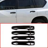 For Toyota Land Cruiser Prado FJ150 150 2010-18 Black Door Handle Cover Trim