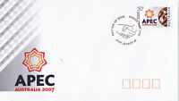 "2007 FDC Australia APEC. Asia-Pacific Economic Cooperation P&S PictFDI ""SYDNEY"""