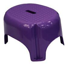 Kräftige Farben Rutschfest Tritt Stuhl, Badezimmer, Küche Hocker Lila