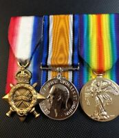 1914-15 Star, British War Medal 1914-20, Victory Medal Replica Set!
