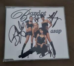 Bardot - Asap CD (single) Fully Signed - EX