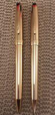 Bill Blass Mechanical Pencil and Pen Set Gold Tone Nib Vintage?