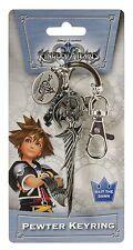 Officially Licensed Kingdom Hearts Riku Keyblade Metal Pewter Key Chain