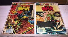 World At War #35 And #36 Comic Book By Charlton Comics