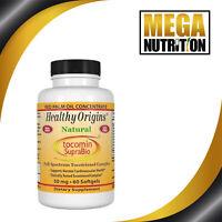 Healthy Origins Tocotrienols Tocomin SupraBio 50mg 60 Softgels | Antioxidant