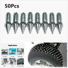50X Car Wheel Tire Snow Chain Studs Anti-Slip Screw For Car Motorcycle ATV Truck
