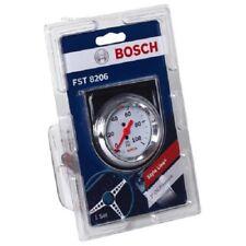 "Bosch Style Line 2"" Mechanical Oil Pressure Gauge (White Face) Fst8206 D3"