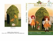 Holleyberry Embroidery Machine Designs CD FAIRY'S & HOUSE