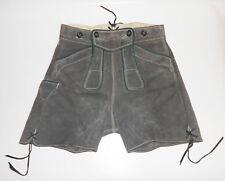 Alte Lederhose Bund 76 cm Größe S Trachtenlederhose true Vintage Wenig getragen