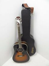 Used Alvarez Guitar AD80SSB Electric Acoustic 6 String Fender Strap Hard Case
