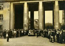 Germany Berlin Post War Town Council Communist Demonstrations Old Photo 1948