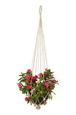 Sika With Red Beads (Set Of 4)  Plant Hanger | Pot Holder | Home & Garden Decor