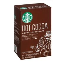 Starbucks Hot Cocoa Double Chocolate Mix Limited Edition 8 oz