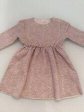 Le ragazze oro Zara vestito, età 3 a 4 anni