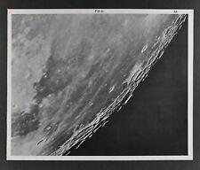 1960 Lunar Moon Map Photo Rumker F2-b McDonald Observatory M373 Crater Astronomy