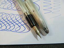 barclay centropen silver fountain pen