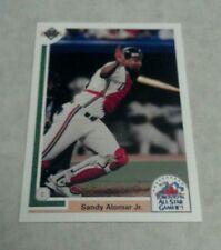 SANDY ALOMAR, JR. 1991 UPPER DECK FINAL EDITION