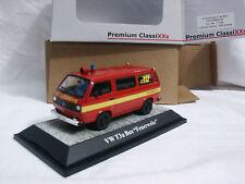 BUS VW VOLKSWAGEN T3A POMPIERS 1/500 PREMIUM CLASSIXXS 1/43