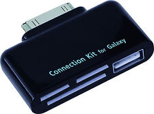 4-in-1 Camera Connection Kit for the Samsung Galaxy Tab (7.0 Plus/7.7/8.9/10.1)