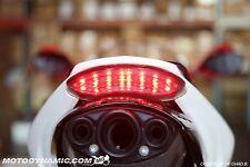 06-12 Triumph Daytona 675 675R INTEGRATED Signal LED Tail Light Smoked Lens