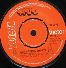 """MUD cut across shorty/we've got to know PB 5075 uk rca 1978 7"""" WS EX/ wol"""