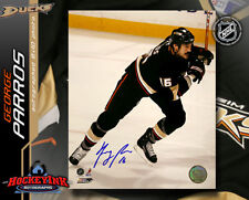 George Parros SIGNED Ducks 8X10 Photo -70202