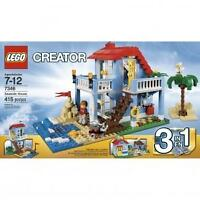 LEGO CREATER 3-IN-1 SEASIDE HOUSE - 7346 - GENUINE - RARE - RETIRED - BNIB
