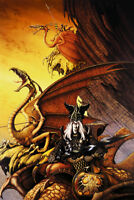 The Dragon Lord Sword And Sorcery Fantasy Poster 24x36