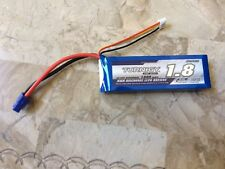 TURNIGY 1800Mah 11.1V 3S 20-30C LiPo Battery EC3 USA SHIP NEW