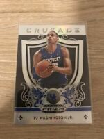 Mint 2019-20 Panini Prizm Draft Picks SILVER HOLO #95 PJ Washington Jr Crusade