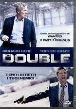 THE DOUBLE Richard Gere Topher Grace DVD NEW Sigillato
