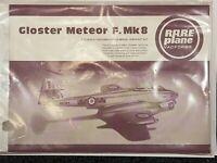 Gloster Meteor F.Mk8 Rare Plane Vac Form Model Kit 1/72 sealed