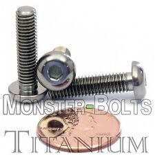 TITANIUM M5 x 20mm - DIN 9427 BUTTON HEAD Socket Cap Screw - BHCS - Ti Hex Allen