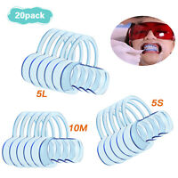 15Pcs S/M/L Mouth C Shape Dental Cheek Retractor Fun Game Lip Mouth Opener Game