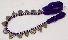 Beads Silver Ethiopian Telsum Prayer Pendant Strand 20mm
