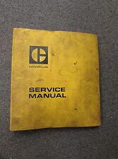 Caterpillar Cat D3 Tractor Service Repair Manual 6N 79U