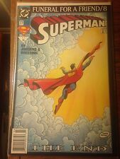 Superman: Funeral for a Friend Mar.93