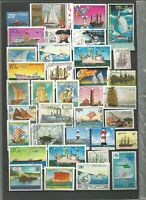 Schiffe Ships Barcos Lot Briefmarken Timbres Sellos Stamps