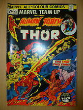 HUMAN TORCH AND THOR Marvel Comics, OCTOBER, 1974 Issue, Vol.1, No.26