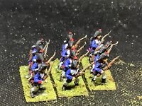 15mm Handpainted Napoleonic French Line Infantry (12) Essex