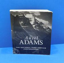 Ansel Adams The National Park Service Photographs Miniature Book 4 X 4.5