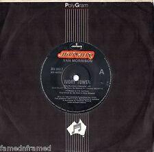 "VAN MORRISON - IVORY TOWER - 7"" 45 VINYL RECORD - 1986"