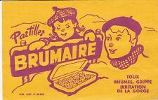 W86 BUVARD Pastilles BRUMAIRE toux rhumes grippe irritation de la Gorge