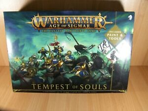 Warhammer Age of Sigmar Tempest of Souls Paint Set Games Workshop AOS